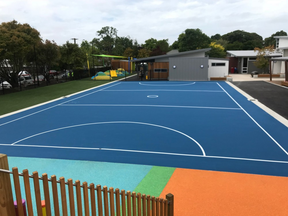 Multisport Surfaces Christchurch   TigerTurf   All-weather synthetic turf to hardwearing acrylic courts   Schools, Clubs, Sports venues.